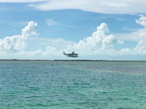 Tropic Ocean Airways taking off from Resorts World Bimini, Resort and Marina, The Bahamas.